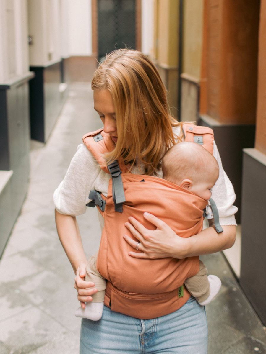 Boba X Bebek Taşıyıcı – Apricot