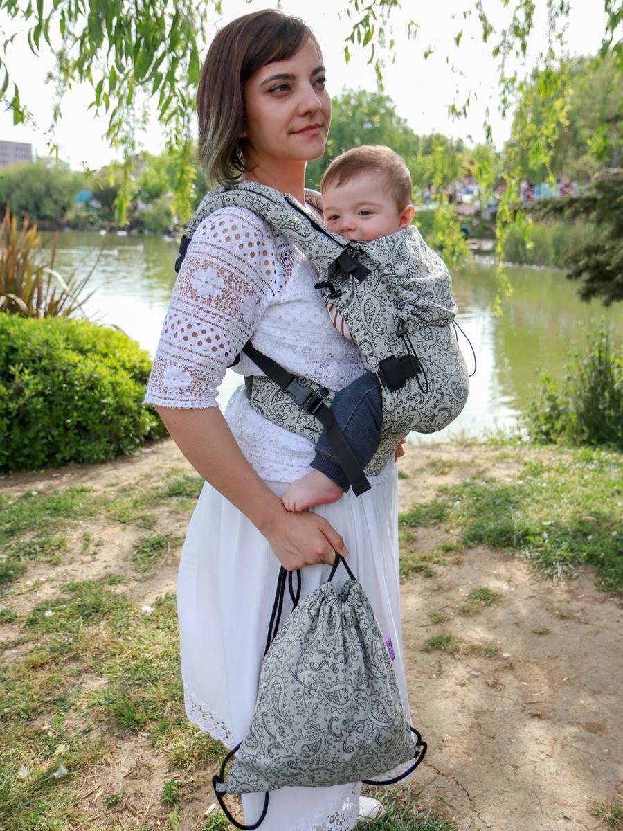 Kanguru Taşıma Çantası – Efes Paisley Hazel Light