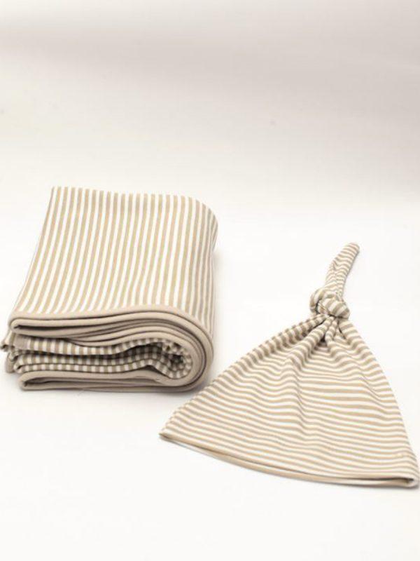 Neko Battaniye&Şapka Set – Çizgili