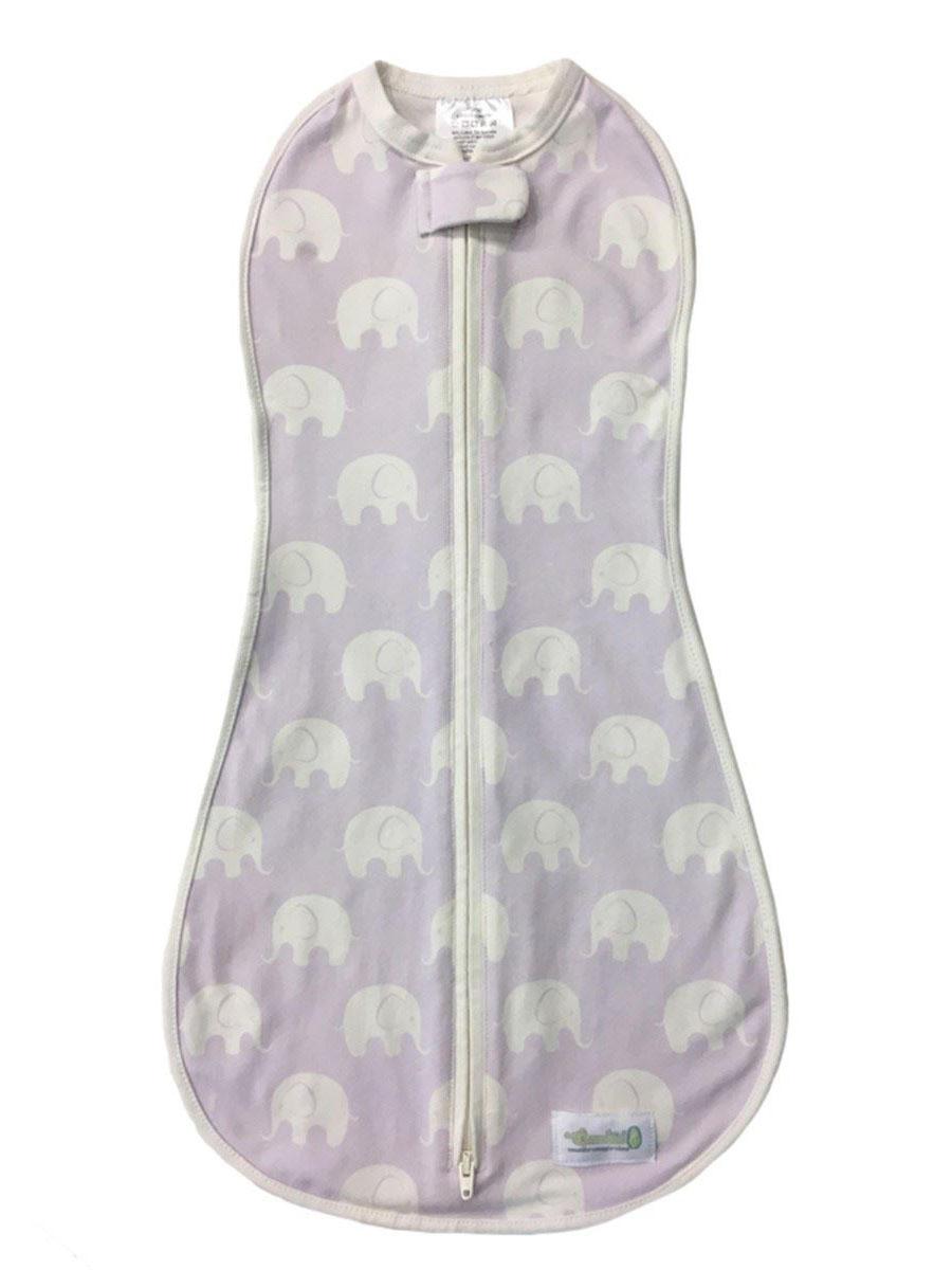 Woombie Original Kundak – Muted Violet Elephant