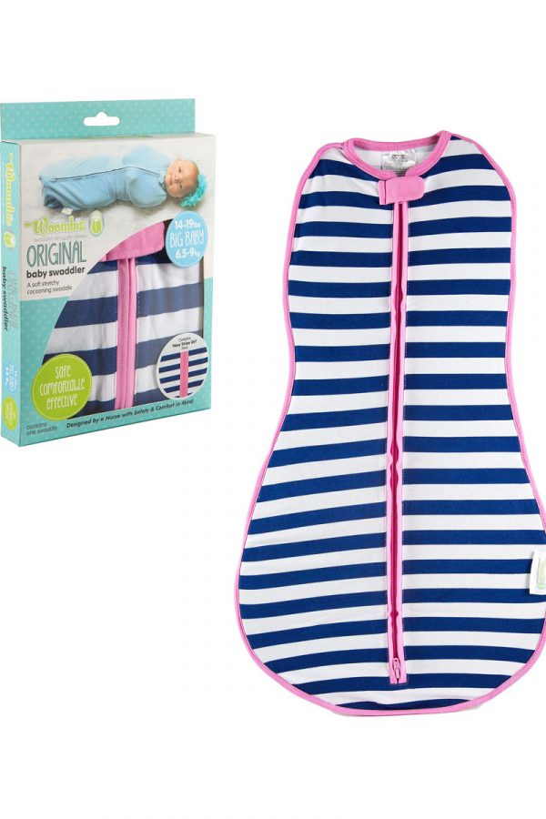 "Woombie Original Kundak – Navy Stripe ""Girl"""